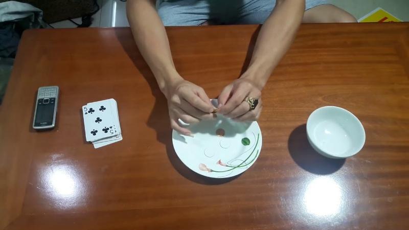 Cách đánh xóc đĩa xanh chín